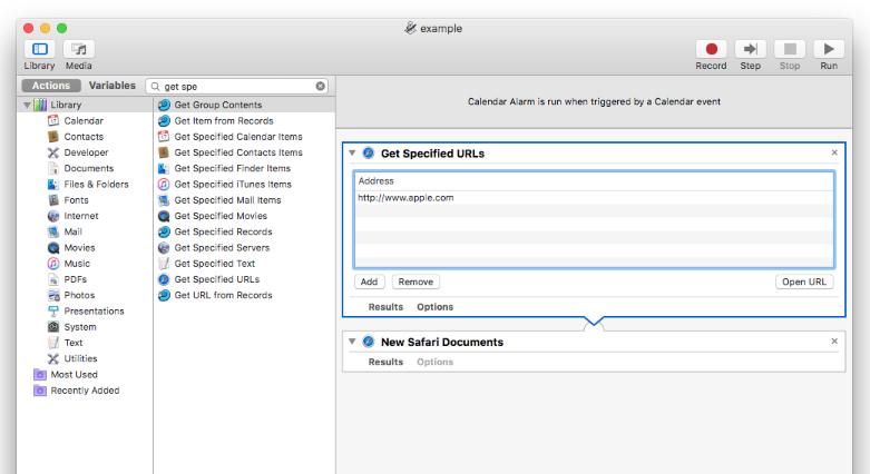 Scheduling Tasks on a Mac - MarketGrabber Software